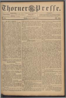 Thorner Presse 1894, Jg. XII, Nro. 194
