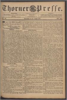 Thorner Presse 1894, Jg. XII, Nro. 196