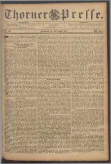 Thorner Presse 1894, Jg. XII, Nro. 198