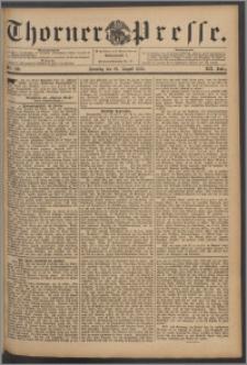 Thorner Presse 1894, Jg. XII, Nro. 199 + Beilage