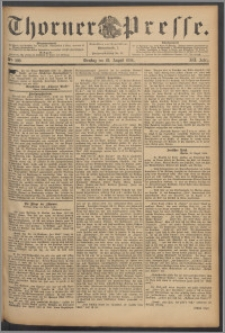 Thorner Presse 1894, Jg. XII, Nro. 200