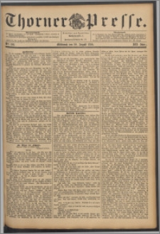 Thorner Presse 1894, Jg. XII, Nro. 201 + Beilagenwerbung