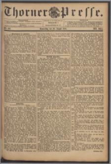Thorner Presse 1894, Jg. XII, Nro. 202