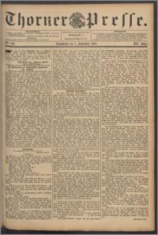 Thorner Presse 1894, Jg. XII, Nro. 204
