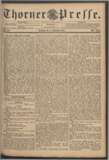 Thorner Presse 1894, Jg. XII, Nro. 206 + Beilage