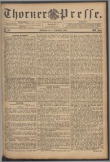 Thorner Presse 1894, Jg. XII, Nro. 207 + Beilage