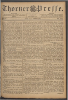 Thorner Presse 1894, Jg. XII, Nro. 209