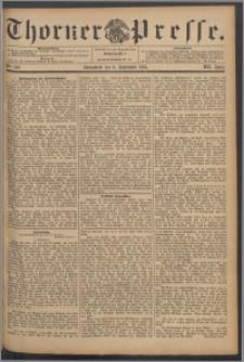 Thorner Presse 1894, Jg. XII, Nro. 210 + Beilage