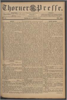 Thorner Presse 1894, Jg. XII, Nro. 211 + Beilage