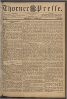 Thorner Presse 1894, Jg. XII, Nro. 216 + Beilage