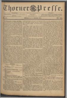 Thorner Presse 1894, Jg. XII, Nro. 219 + Beilage