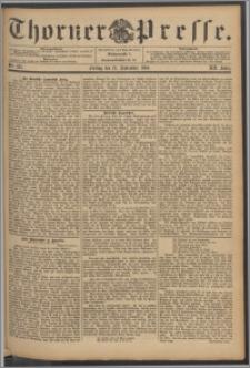 Thorner Presse 1894, Jg. XII, Nro. 221 + Beilage