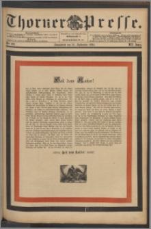 Thorner Presse 1894, Jg. XII, Nro. 222 + Beilage