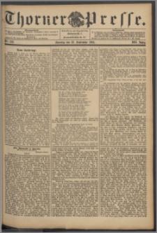 Thorner Presse 1894, Jg. XII, Nro. 223 + Beilage