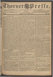 Thorner Presse 1894, Jg. XII, Nro. 225 + Beilage