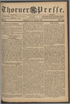 Thorner Presse 1894, Jg. XII, Nro. 226