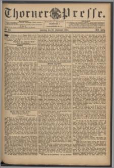 Thorner Presse 1894, Jg. XII, Nro. 229 + Beilage, Beilagenwerbung