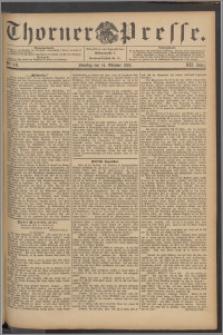Thorner Presse 1894, Jg. XII, Nro. 241 + 1. Beilage, 2. Beilage