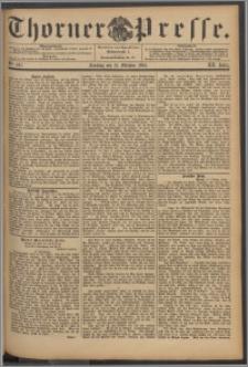 Thorner Presse 1894, Jg. XII, Nro. 247 + 1. Beilage, 2. Beilage
