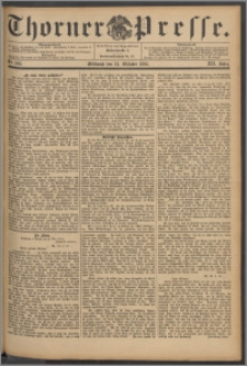 Thorner Presse 1894, Jg. XII, Nro. 249 + Beilage