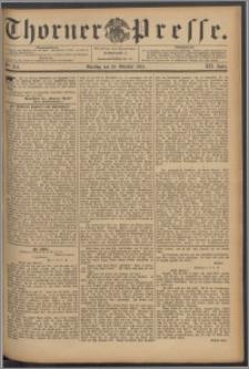 Thorner Presse 1894, Jg. XII, Nro. 254 + Beilage