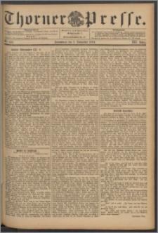 Thorner Presse 1894, Jg. XII, Nro. 258