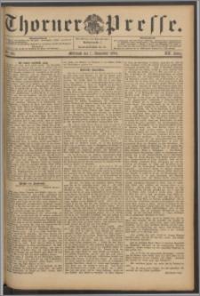 Thorner Presse 1894, Jg. XII, Nro. 261