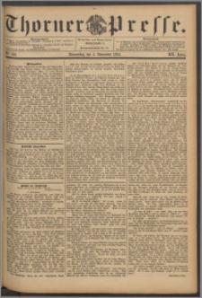 Thorner Presse 1894, Jg. XII, Nro. 262 + Beilage