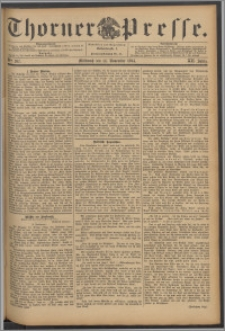 Thorner Presse 1894, Jg. XII, Nro. 267