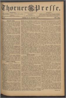 Thorner Presse 1894, Jg. XII, Nro. 271 + Beilage