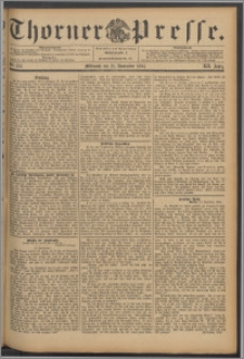 Thorner Presse 1894, Jg. XII, Nro. 273 + Beilage