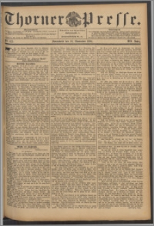 Thorner Presse 1894, Jg. XII, Nro. 275