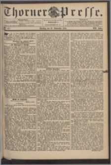 Thorner Presse 1894, Jg. XII, Nro. 277 + Beilage
