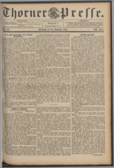 Thorner Presse 1894, Jg. XII, Nro. 278