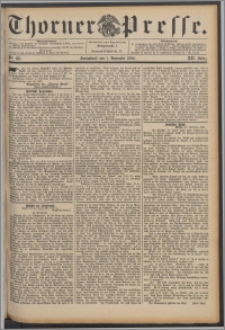 Thorner Presse 1894, Jg. XII, Nro. 281