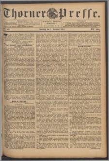 Thorner Presse 1894, Jg. XII, Nro. 282 + Beilage, Extrabeilage