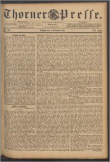 Thorner Presse 1894, Jg. XII, Nro. 283 + Beilage