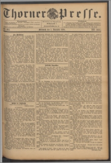 Thorner Presse 1894, Jg. XII, Nro. 284 + Beilage