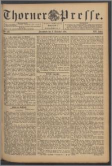 Thorner Presse 1894, Jg. XII, Nro. 287 + Beilage