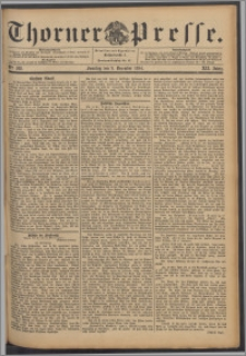 Thorner Presse 1894, Jg. XII, Nro. 288 + Beilage