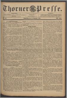 Thorner Presse 1894, Jg. XII, Nro. 291 + Beilage