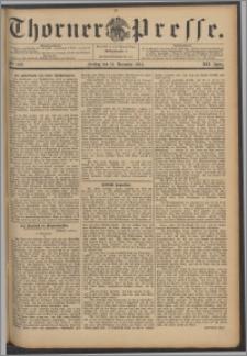 Thorner Presse 1894, Jg. XII, Nro. 292 + Beilage