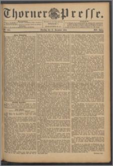 Thorner Presse 1894, Jg. XII, Nro. 295 + Beilage