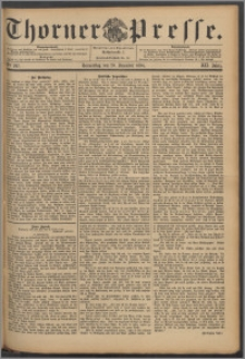 Thorner Presse 1894, Jg. XII, Nro. 297 + Beilage