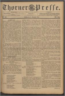 Thorner Presse 1894, Jg. XII, Nro. 298 + Beilage