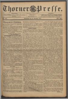 Thorner Presse 1894, Jg. XII, Nro. 299 + Beilage
