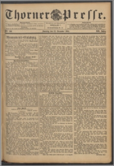 Thorner Presse 1894, Jg. XII, Nro. 300 + Beilage