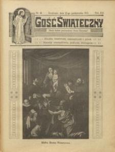 Gość Świąteczny 1913.10.12 R. XIX nr 41