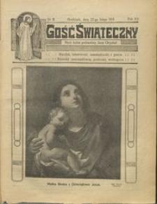 Gość Świąteczny 1914.02.22 R. XX nr 8