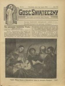 Gość Świąteczny 1914.03.01 R. XX nr 9
